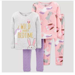 4pc Unicorn 100% Cotton Pajama Set